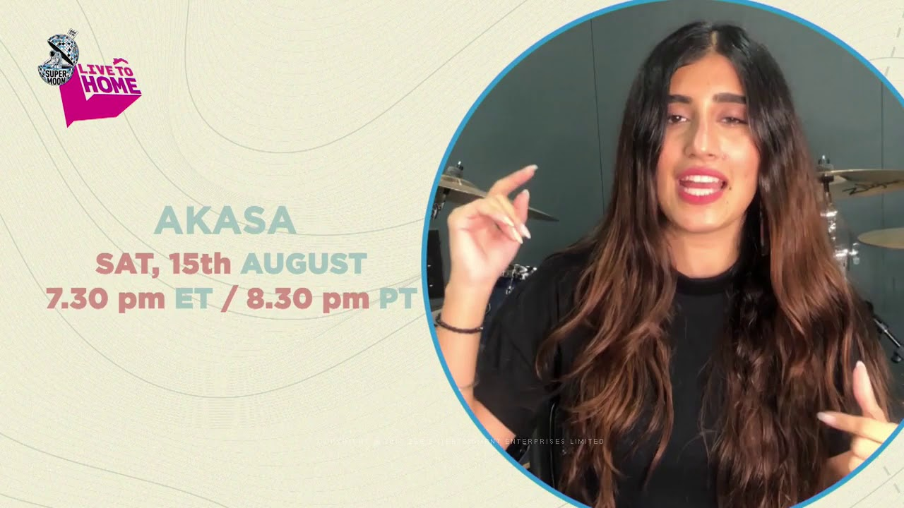 Supermoon Live to Home Akasa Sat August 15th Zee TV Americas