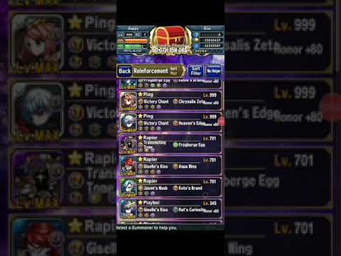 Brave Frontier: The Savage Lion Hard Mode | Mediocre Run