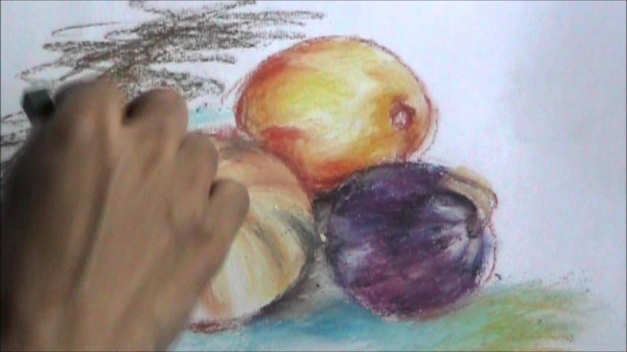 Oil Pastel Vs Oil Paint