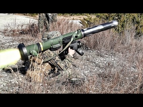 Marines Fire The M41A4 Saber & FGM-148 Javelin Missiles