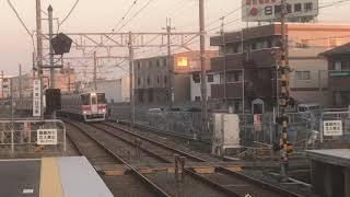 全般検査済み・山陽5000系5020F直通特急姫路行き 江井ヶ島駅通過