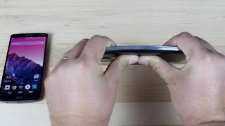 LG G3 and Galaxy S5 Bend Test [UnboxTherapy Iphone 6 Plus Bendgate]