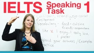 IELTS Speaking Task 1 - How to get a high score(http://www.goodluckielts.com/ Do you need to take the IELTS? I will teach you everything you need to get a higher score in Task 1 of the Speaking section of the ..., 2013-05-17T17:19:09.000Z)