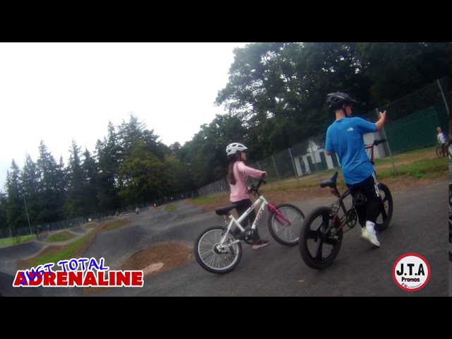 Hawick Community Pump Track Wilton Lodge Park GoXtreme Vision UltraHD Action Camera Bike Cam Footage