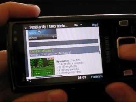 Samsung i8510 INNOV8 naršyklė ir optinis valdiklis - Symbianity.com