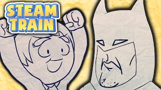 Steam Train Animated - A Phonecall With Batman - by Rubberninja