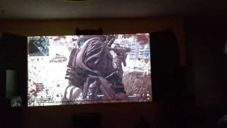 Call of Duty Modern warfare Remastered! On the BATSCREEN