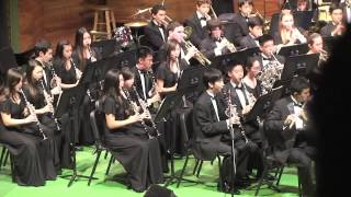 Punahou Wind Ensemble - Orpheus Overture, Winter 2012