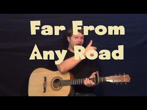 Far From Any Road (HBO True Detective) Easy Guitar Lesson How to Play Tutorial