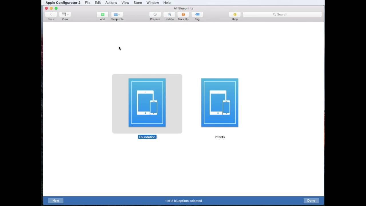 Apple configurator 2 how to add profiles to blueprints youtube malvernweather Gallery