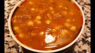 Harira Marocaine(sans Gluten) Sans Farine. حريرة مغربية اصيلة لذيذة و صحية بدون دقيق