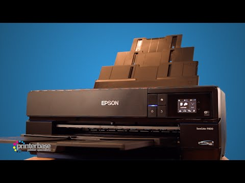 Epson SureColor SC-P800 Fine Art Inkjet Printer Review | Printerbase.co.uk