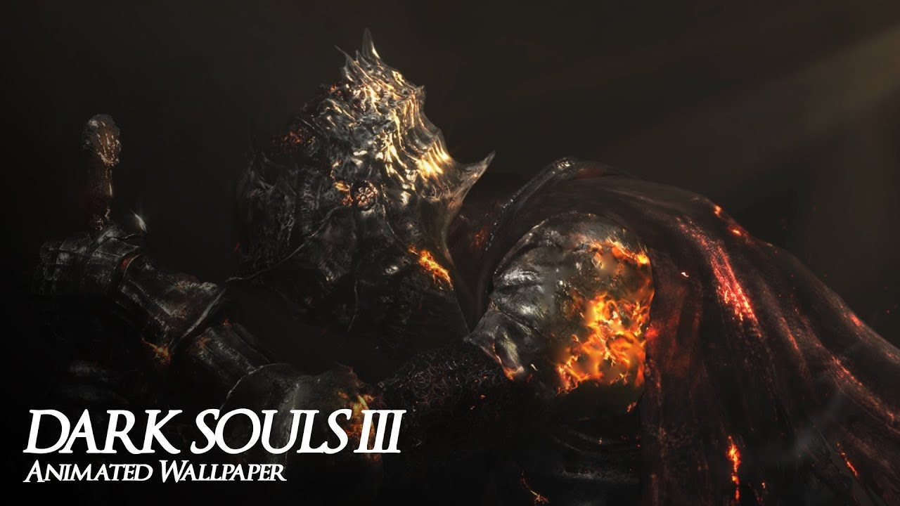 Darksouls Iii Tribute Animated Wallpaper 1440p Youtube