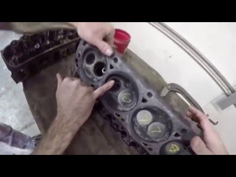Removing Valves from Cylinder Heads  - YouTube