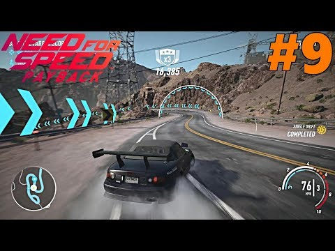 Need For Speed Payback, Let's Play, Part 9 | BEST DRIFT ROADS!