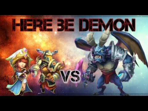 Castle Clash Here Be Demon Reduces Damage Version!