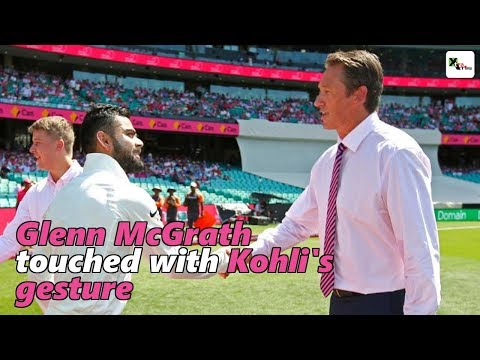 Watch: Glenn McGrath touched with Kohli's gesture for Pink Test | Australia vs India
