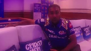 Travel to India and attend an IPL Match with the Mumbai Indians and meet Mahela