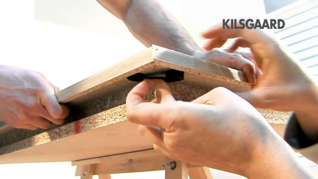 Kilsgaard: Einbau einer Zarge - YouTube