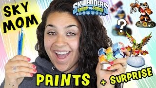 Sky Mom Paints Custom Skylanders + Surprise (Renaming Contest?) Awesome Swap Force Variants