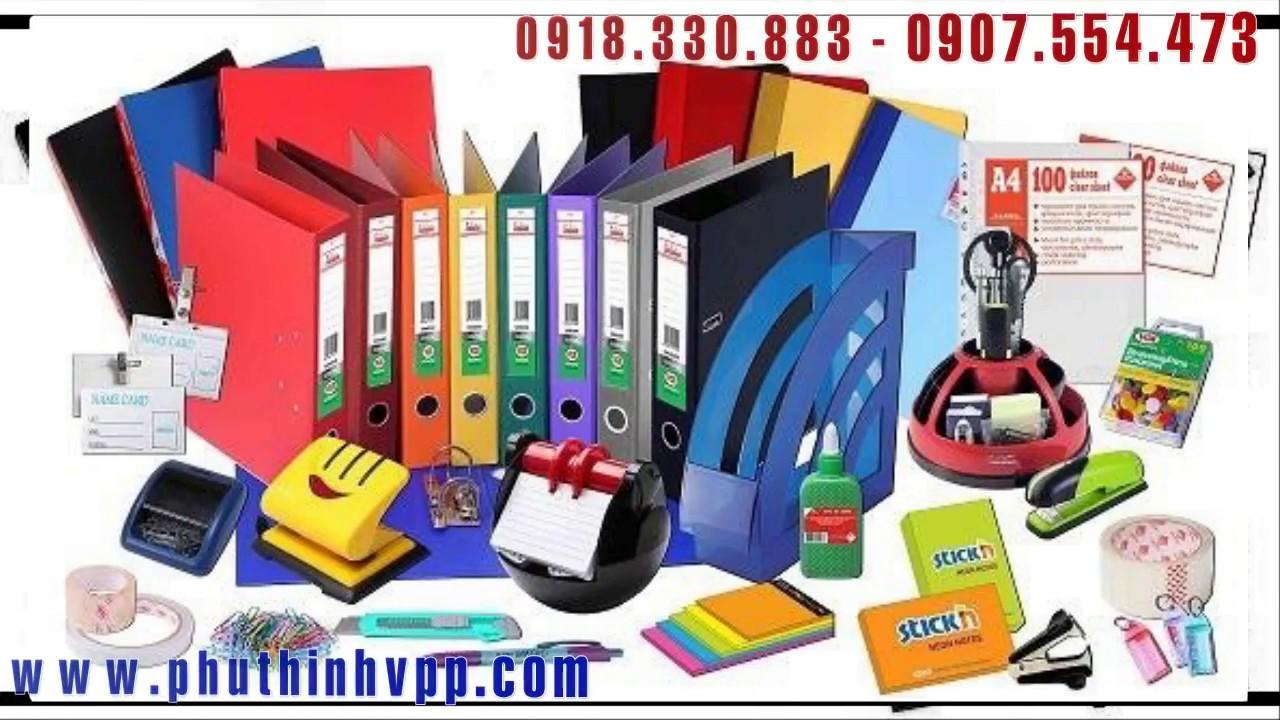 Phân phối Sỉ & Lẻ văn phòng phẩm Toàn Quốc – VPP Phú Thịnh 0918 330 883