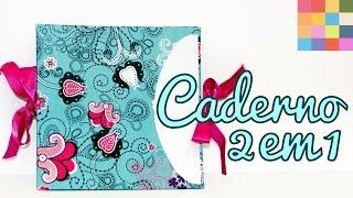 DIY – Caderno / caderneta 2 em 1
