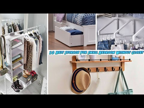 10 Best Storage For Small Bedroom Without Closet