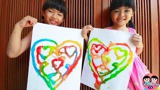หนูยิ้มหนูแย้ม | กิจกรรมเด็ก ทำหัวใจให้พ่อ Kids Activity