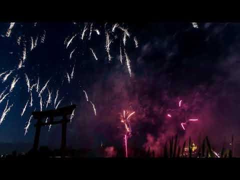 Feu d'artifice du 14 Juillet 2019 à Metz (time lapse) 4K