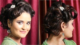Hairstyles - Twist & Curl Side Bun Thumbnail
