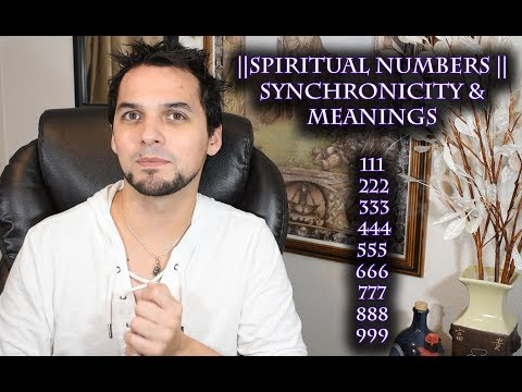 Spiritual Numbers || Synchronicity & Meanings || 111, 222, 333, 444, 555, 666, 777, 888, 999