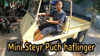 Steyr Puch Haflinger Mini 2020 Mesin Vespa