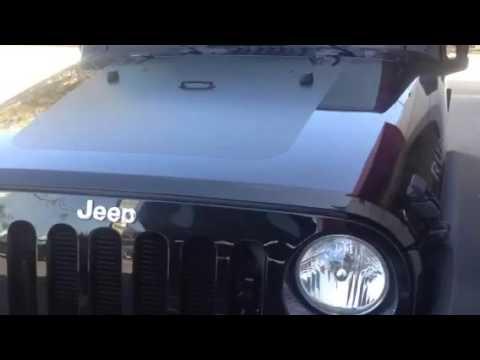Quadratec Hood Black Out For Jeep JK Model - Jeep hood decalsmatte black jeep hood decal