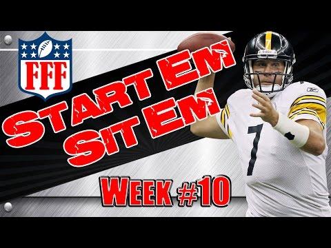 Week 10 Start