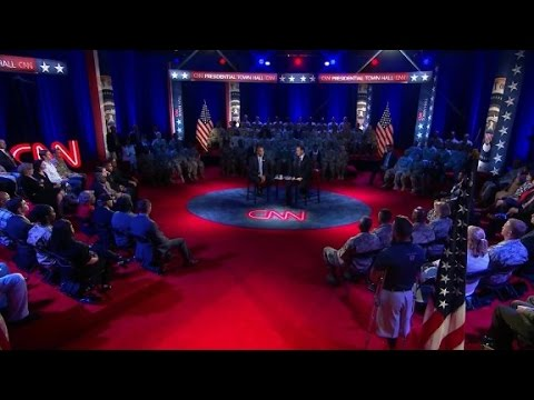 Powerful stories at the CNN presidential townhall