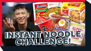 ULTIMATE BLINDFOLD INSTANT NOODLE CHALLENGE!