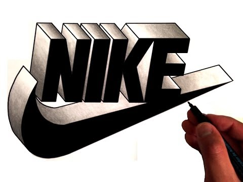 Artist Draws Famous Logos in 3D