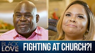 David & Tamela Mann | Church Fight?! | Black Love Doc | Bonus Clip
