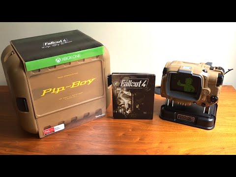 Fallout 4 pip boy collector's edition pip-boy and stand only sold.