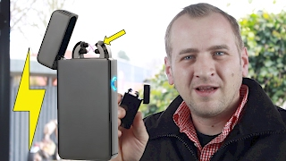 Elektro Lichtbogen Feuerzeug USB ( Elektroschocker ;D )2018