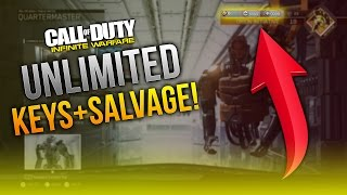 Unlimited Keys And Salvage Farming Glitch/Method In IW!! - Infinite Warfare Keys And Salvage Glitch