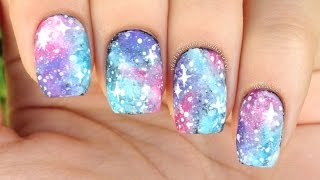 Nail Art Tutorial: Easy Galaxy Print (perfect for beginners!)
