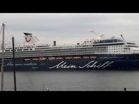 Mein Schiff 1 docked in Dublin 13th August 2017