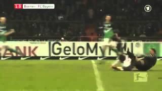 Tim Wiese Foul an Thomas Müller HD