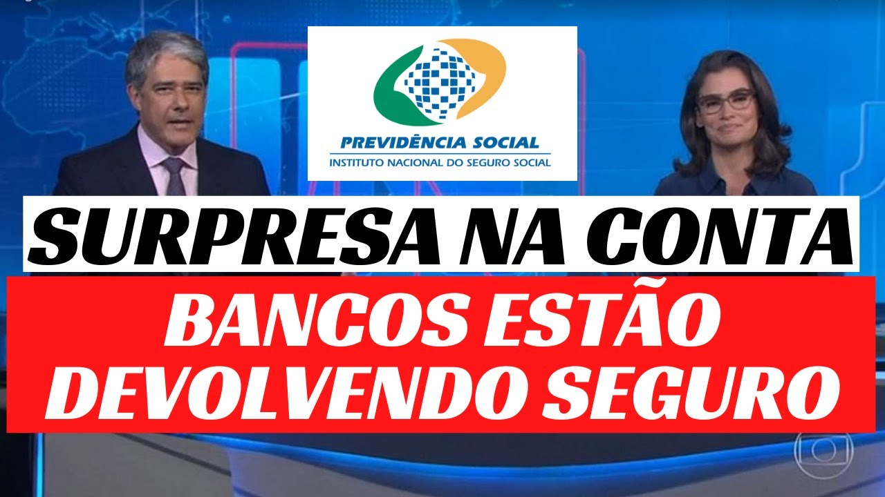 BANCOS ESTÃO DEVOLVENDO GRANA DO SEGURO PRESTAMISTA PARA OS APOSENTADOS E PENSIONISTAS DO INSS-
