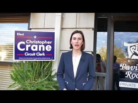 Lenka Horakova Endorses Christopher Crane for Circuit Clerk