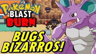 Pokemon Blast Burn (Detonado - Parte 5) - Bugs Terríveis e Nidoking