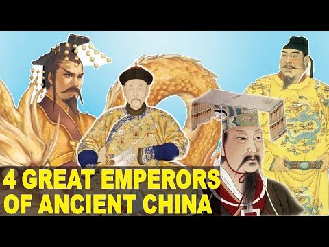 4 GREATEST Emperors to Ever Rule China