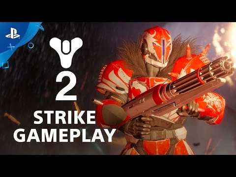 Destiny 2 'Inverted Spire' Strike Gameplay | Commentary by Bungie's Mark Noseworthy | PS4