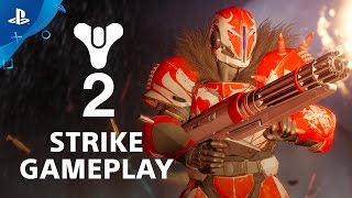 Destiny 2 'Inverted Spire' Strike Gameplay - Commentary by Bungie's Mark Noseworthy | PS4